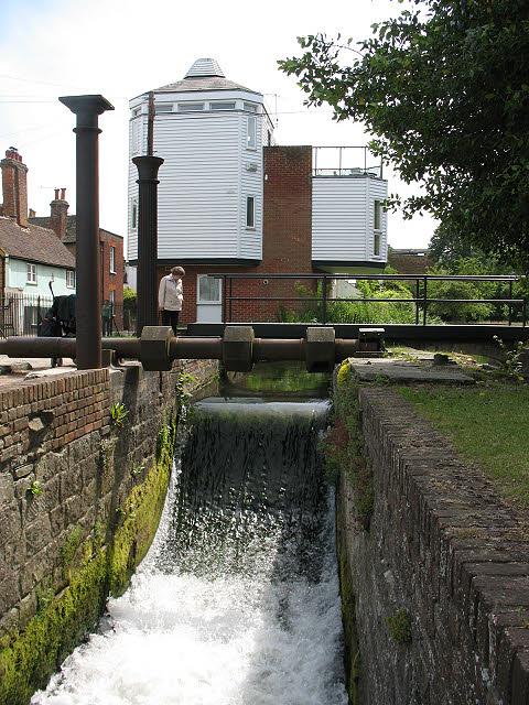 Waterwheel pit, Abbot's Mill