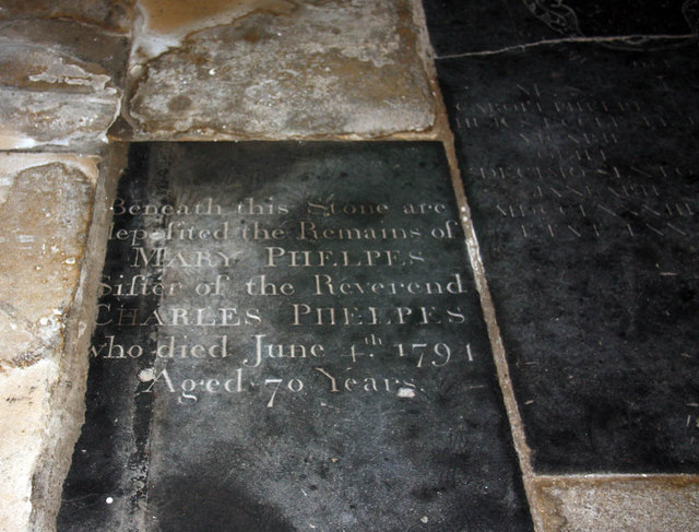 All Saints, King's Lynn, Norfolk - Ledger slab