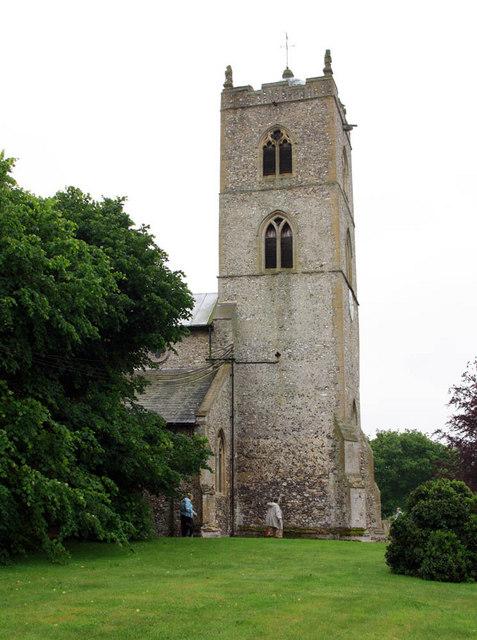 St Nicholas, Gayton, Norfolk - Tower