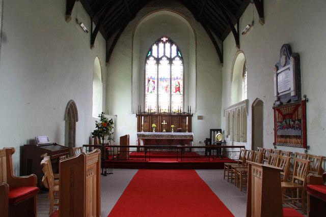St Nicholas, Gayton, Norfolk - Chancel
