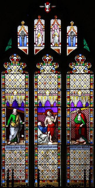 St Nicholas, Gayton, Norfolk - Window