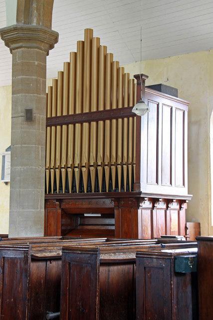St Nicholas, Gayton, Norfolk - Organ