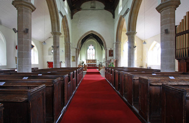 St Nicholas, Gayton, Norfolk - East end
