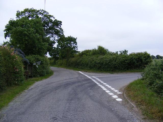 Yoxford Road, Bramfield