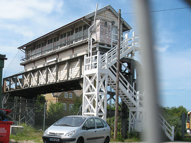 Canterbury West signalbox (2)