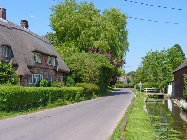 Rockbourne Village