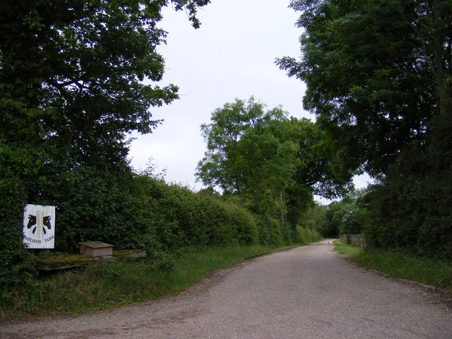 Entrance to Earlsway Farm
