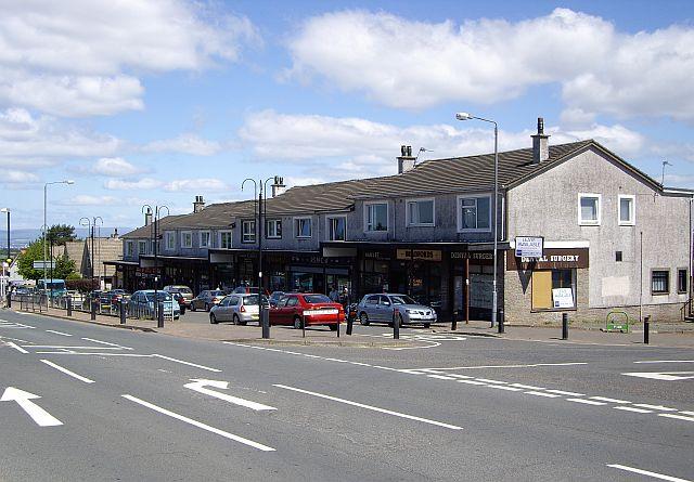 Glasgow Road shops