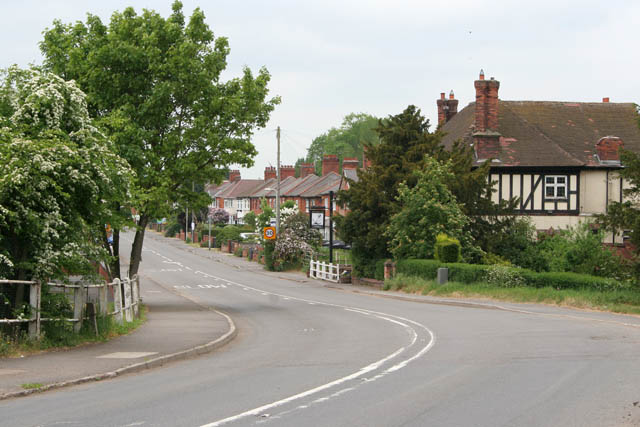 Entering Kegworth on Station Road