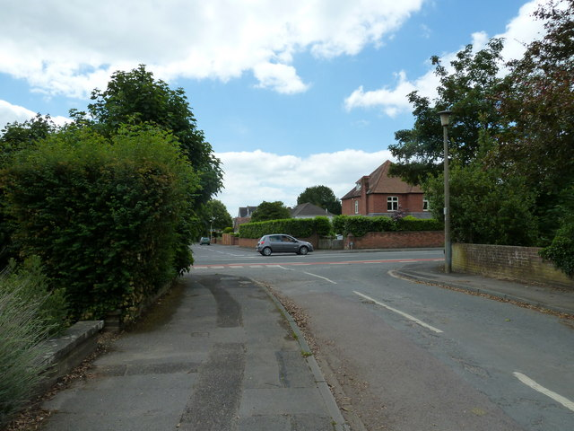 Looking from Emsworth House Close towards Havant Road