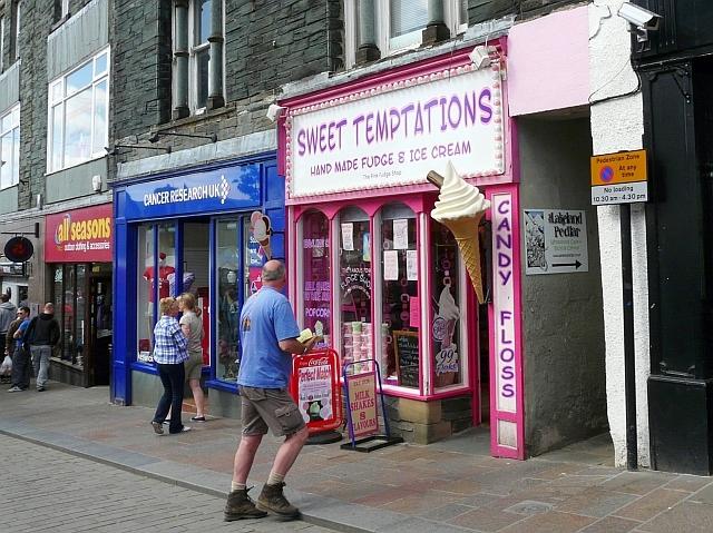 Pink sweet shop