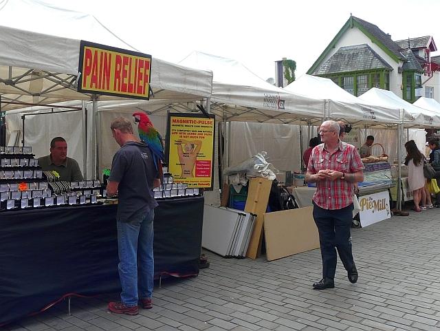 Keswick Market - nearly closing time