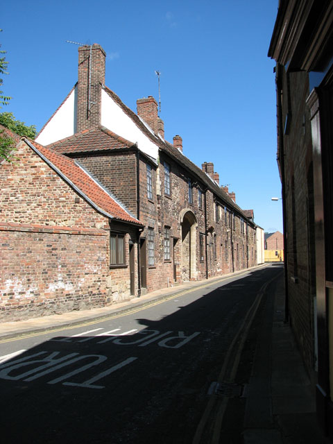 Cottages in Priory Lane, Kings Lynn