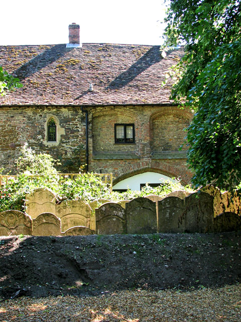 Cottages adjoining St Margaret's church
