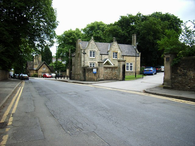 Beech Hill Lodge and Norfolk Park Lodge, Norfolk Park Road. Sheffield