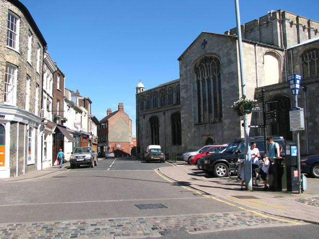 Saturday Market Place, Kings Lynn