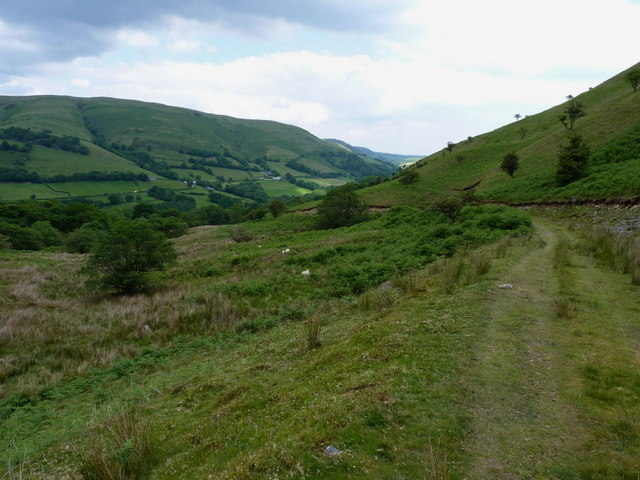 Down the track in the cwm