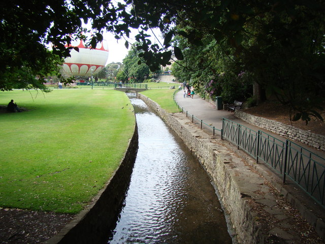 Stream in Lower Gardens, looking north-northwest #3