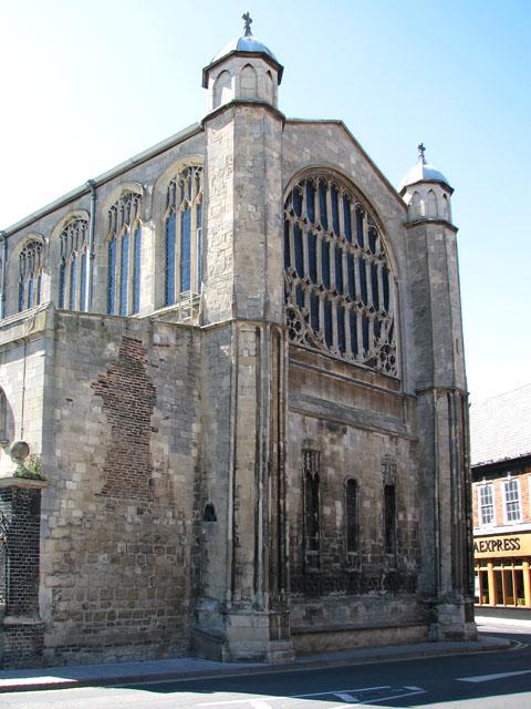 St Margaret's church in Kings Lynn - the east face