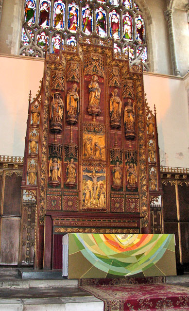 St Margaret's church in Kings Lynn - the reredos