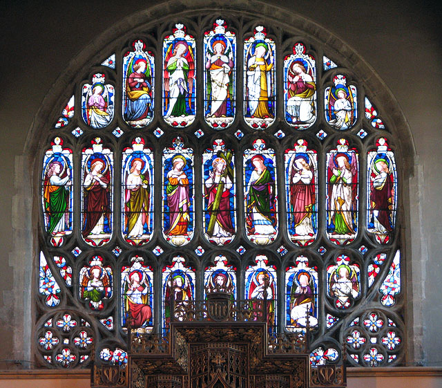 St Margaret's church in Kings Lynn - east window
