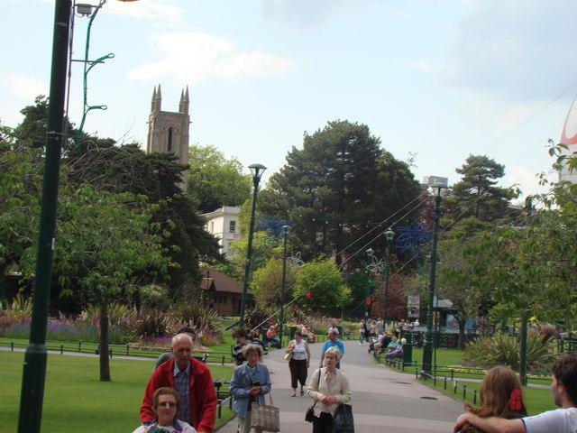Main path in Lower Gardens