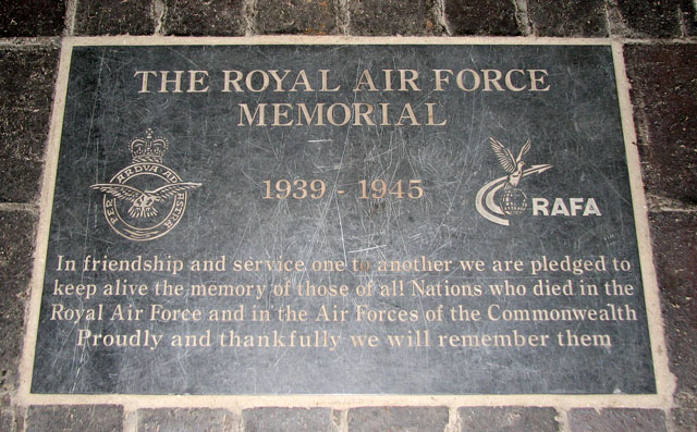 St Margaret's church in Kings Lynn - RAF memorial