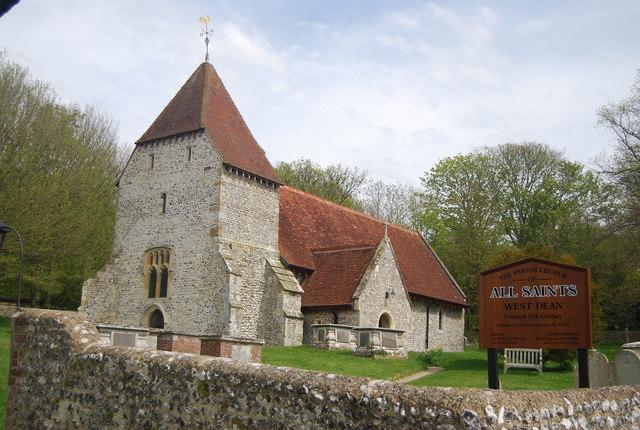 All Saints' Church, Westdean