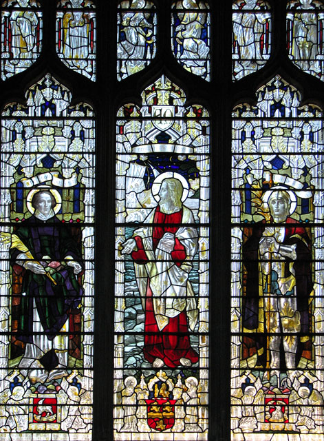 St Margaret's church in Kings Lynn - stained glass