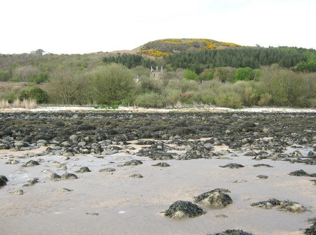 Carsluith Castle and the Doon of Carsluith