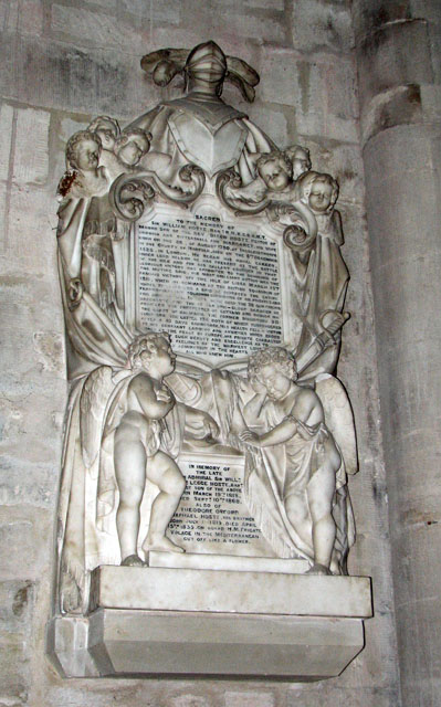St Margaret's church in Kings Lynn - memorial