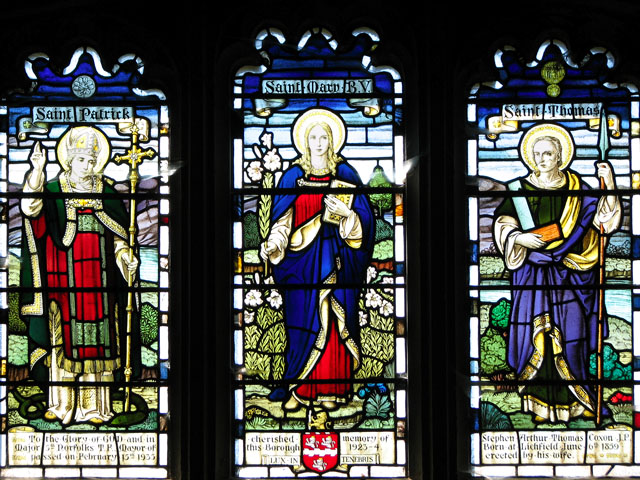 St Margaret's church in Kings Lynn - memorial window