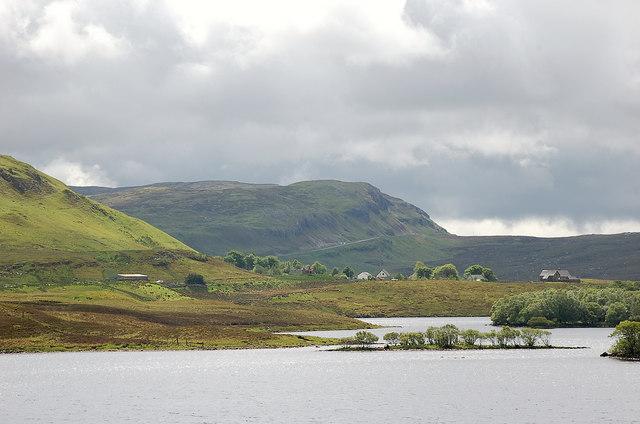Elphin from Cam Loch