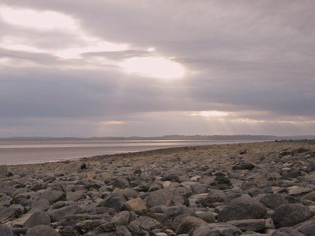 Evening, looking towards Wigtown