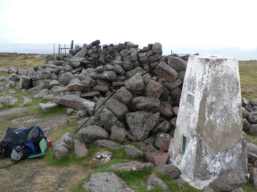 Summit Trig and shelter
