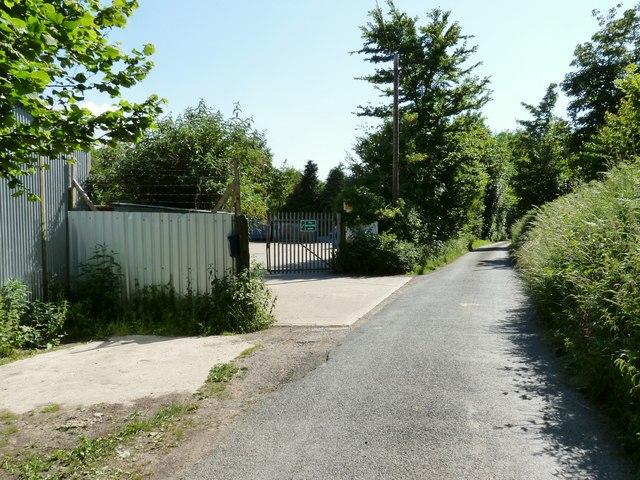 Waste Management Facilities at Stony Bridge on Nethercott Road