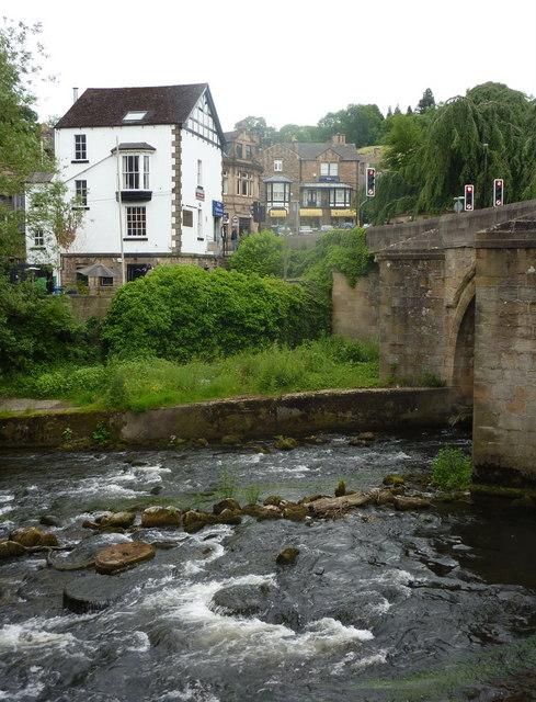 River Derwent at Matlock Bridge