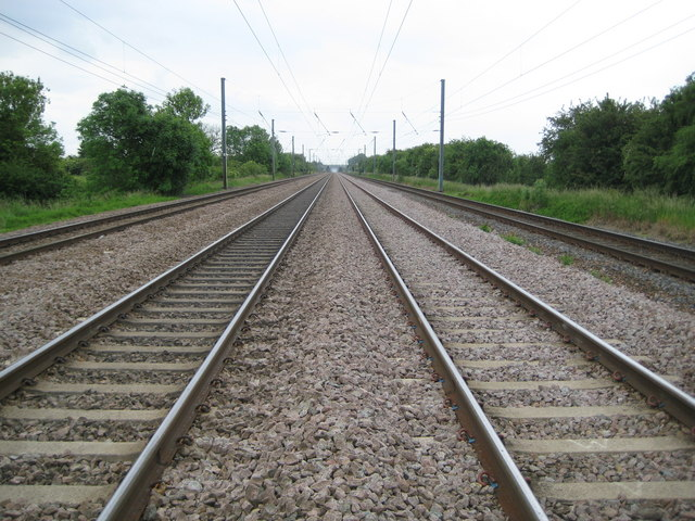 East Coast Main Line at Arlesey (1)