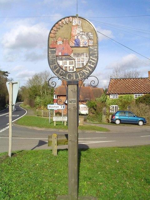 Little Glemham Village sign