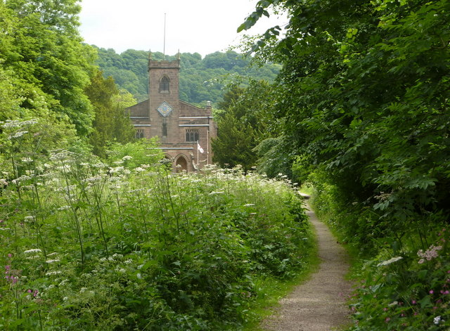 Footpath to Cromford Church