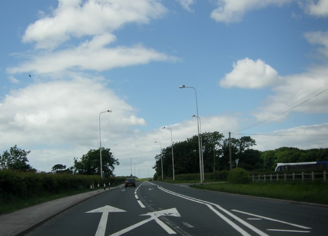 A 585 by the Thistleton turning