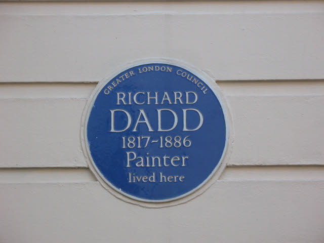 Plaque to Richard Dadd