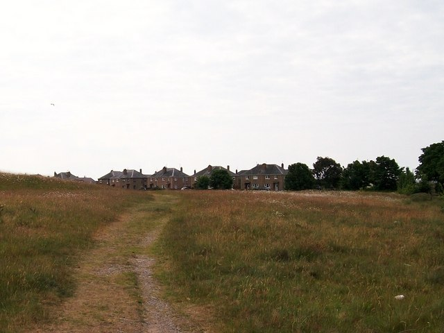 Open land behind Morfa'r Garreg