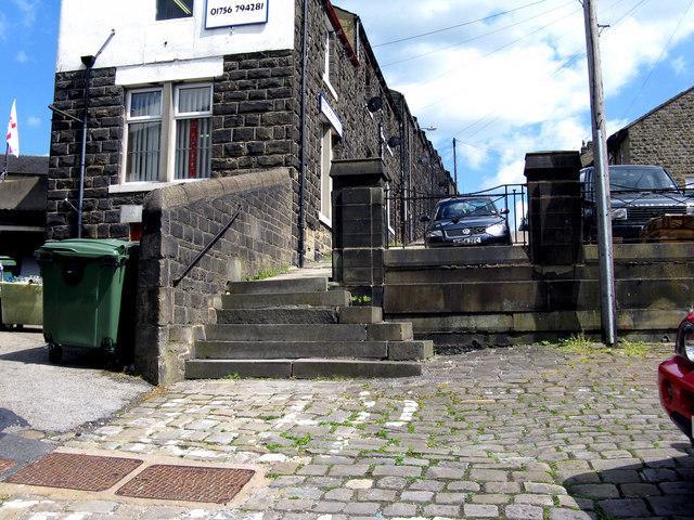 Skipton:  Steps on Castle Street