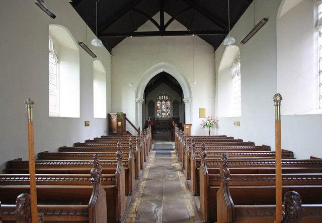 All Saints, Ashwicken, Norfolk - East end
