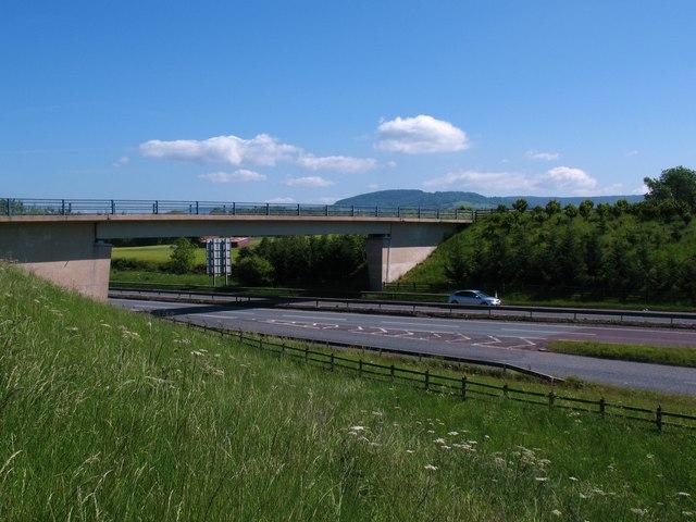 Bridge over the A19