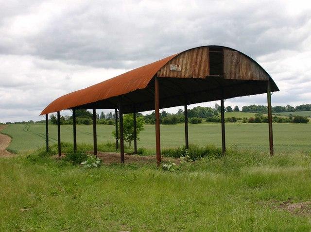 Empty barn on Granby Farm