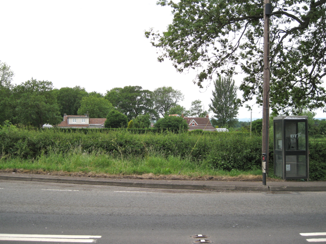 North end of lay-by, A38 Berkeley Heath