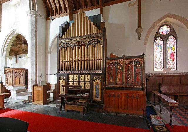 St Mary, Middleton, Norfolk - Organ