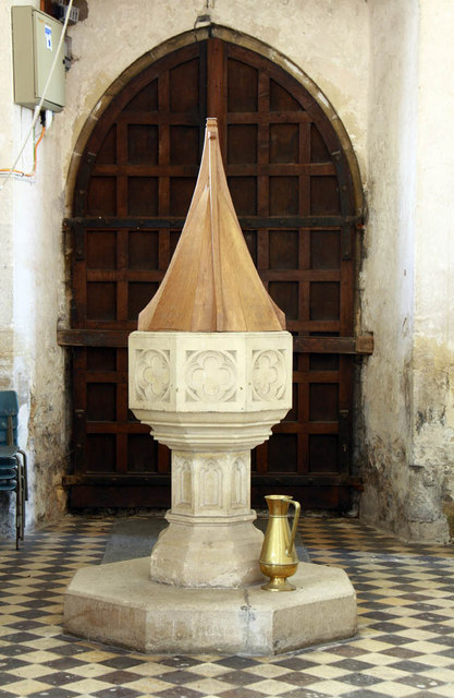 St Mary, Middleton, Norfolk - Font